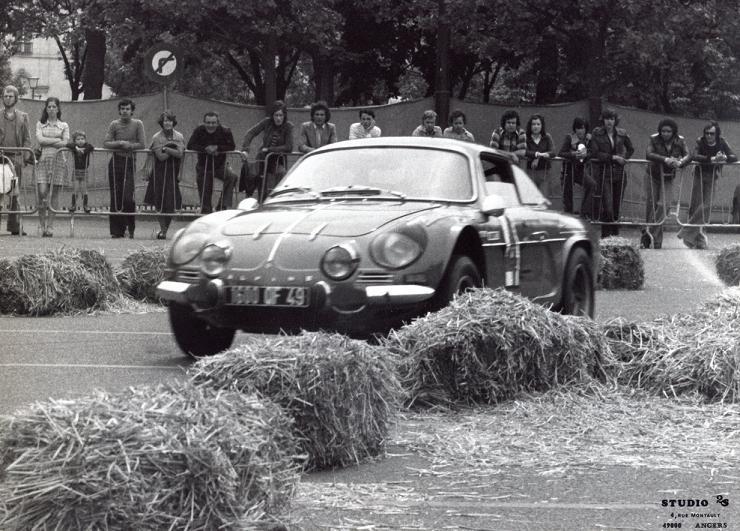 Mes premières autos pour courir...Simca rallye 1100cc, Alpine A110 1600S, A110 1500, A310 Angers