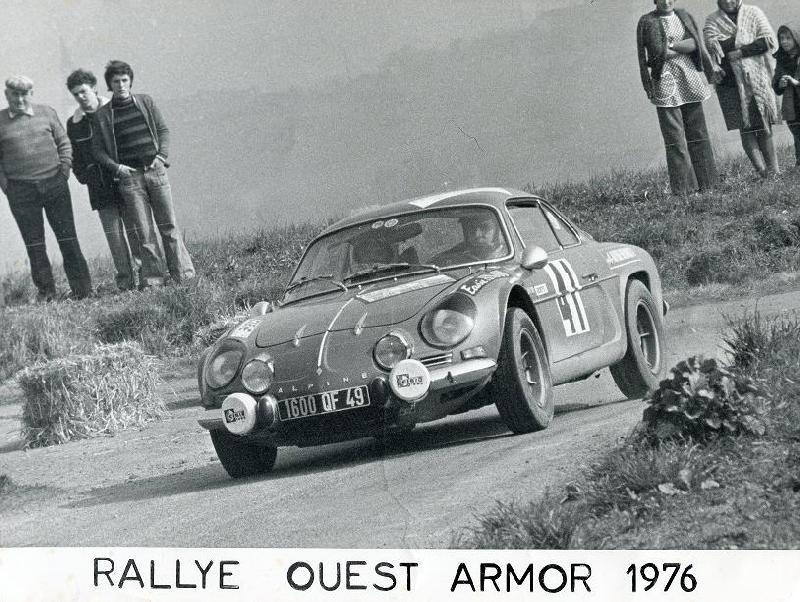 Mes premières autos pour courir...Simca rallye 1100cc, Alpine A110 1600S, A110 1500, A310 Armorok