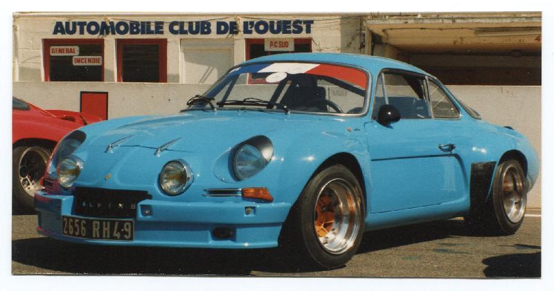 Mes premières autos pour courir...Simca rallye 1100cc, Alpine A110 1600S, A110 1500, A310 Img305