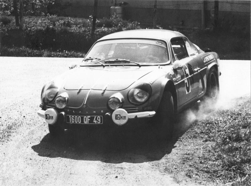 Mes premières autos pour courir...Simca rallye 1100cc, Alpine A110 1600S, A110 1500, A310 Numari14