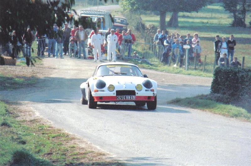 Mes premières autos pour courir...Simca rallye 1100cc, Alpine A110 1600S, A110 1500, A310 Zzzzzz24