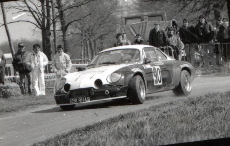 Mes premières autos pour courir...Simca rallye 1100cc, Alpine A110 1600S, A110 1500, A310 Zzzzzz44