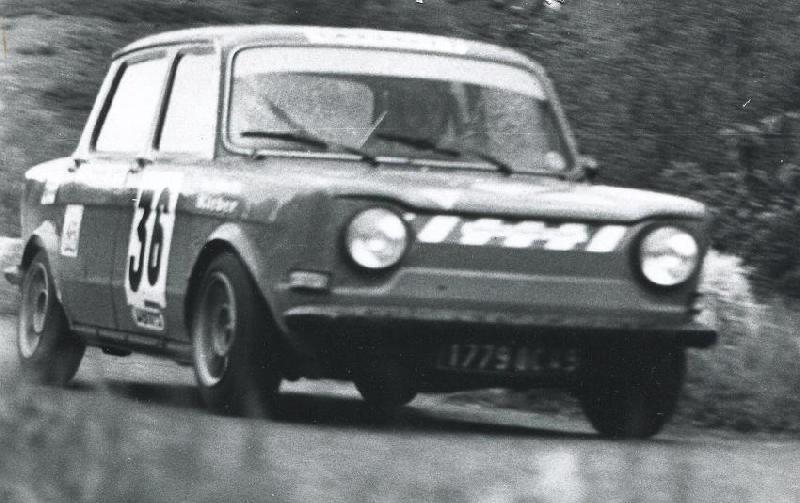 Mes premières autos pour courir...Simca rallye 1100cc, Alpine A110 1600S, A110 1500, A310 Zzzzzz68