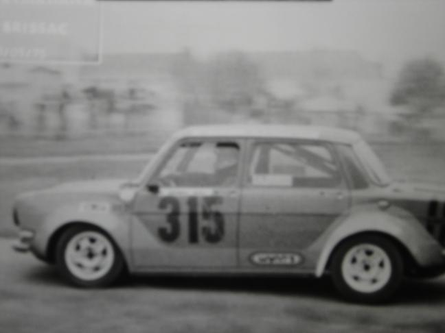 Mes premières autos pour courir...Simca rallye 1100cc, Alpine A110 1600S, A110 1500, A310 Zzzzzz69