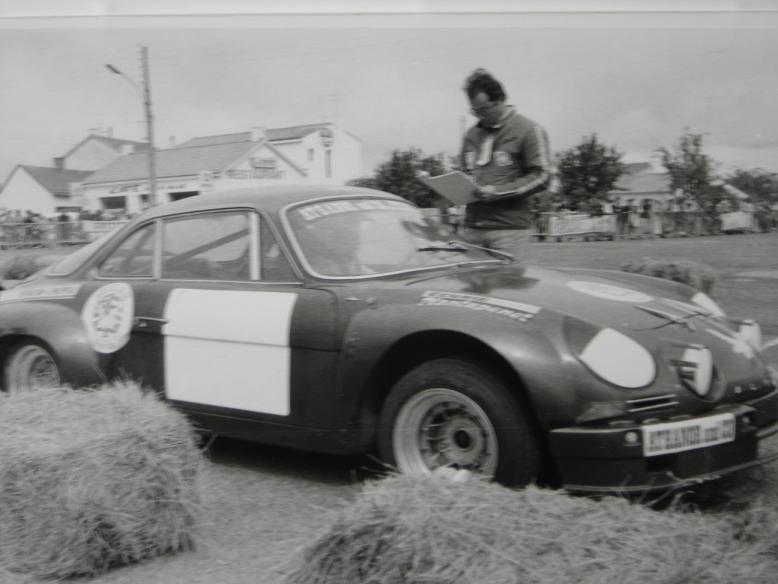 Mes premières autos pour courir...Simca rallye 1100cc, Alpine A110 1600S, A110 1500, A310 Zzzzzz74